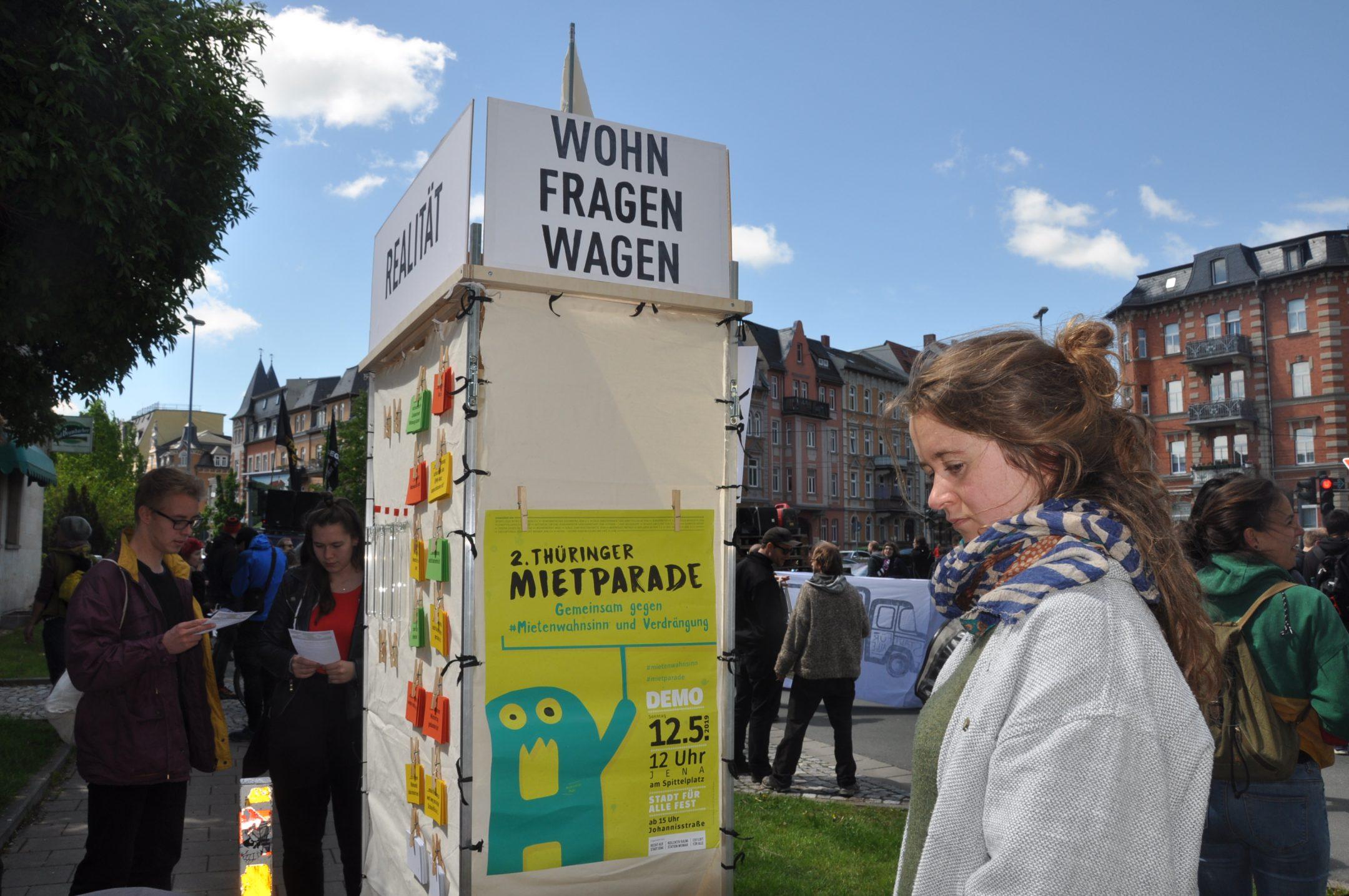 (Thüringer Mietparade & Wohnfragenwagen – Kollektiv Raumstation)