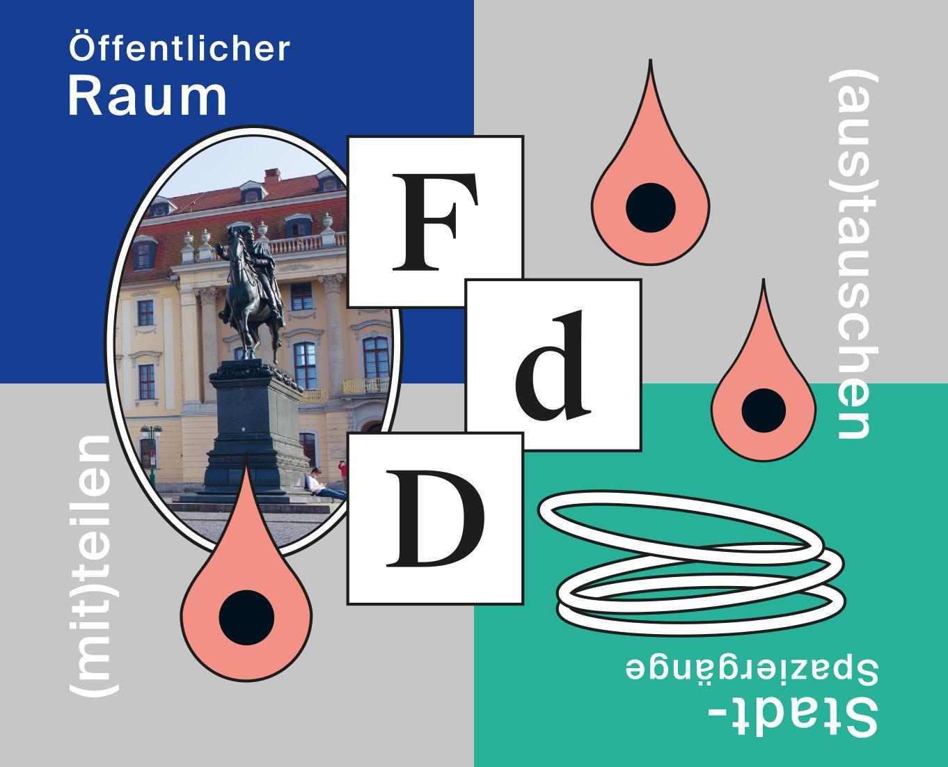 Grafik: Michael Weber (Fest der Demokratie am Platz derDemokratie – Kollektiv Raumstation)