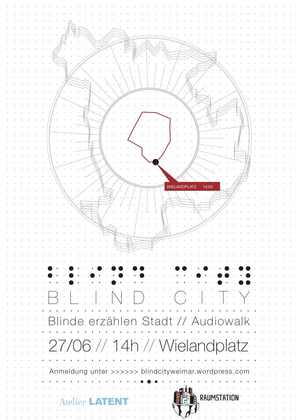 (Blind City. Blinde erzählen Stadt – Kollektiv Raumstation)