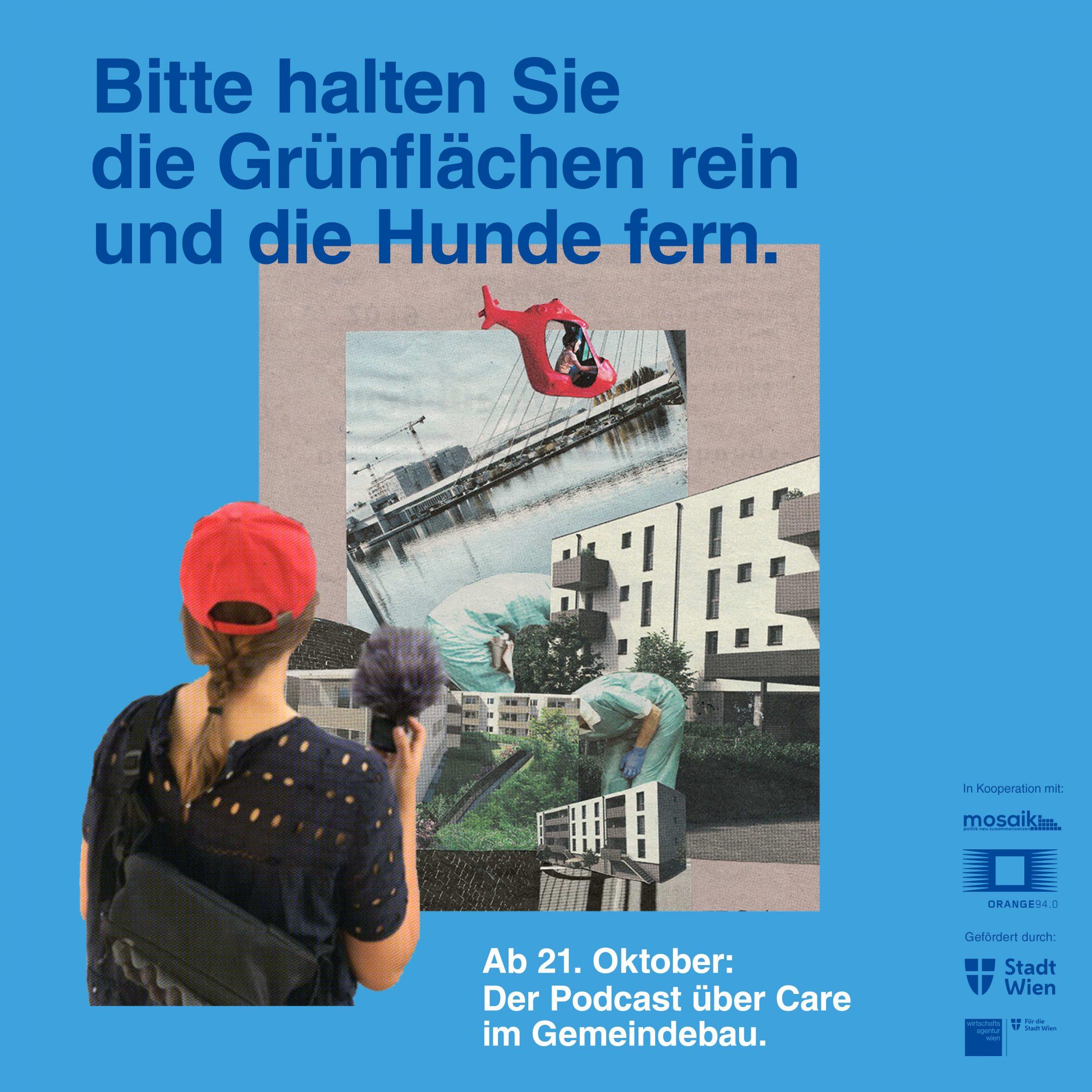 (Premiere: Podcast über Care im Wiener Gemeindebau)